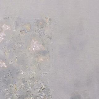 Mónica Llorente, de la serie 'Absorbidos' (Detalle), 2016, Óleo, acrílico, estuco plástico e impresión digital sobre lienzo, 60 x 90 cm.
